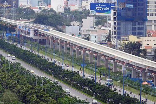 'Khát' vốn, tuyến metro số 1 nguy cơ bị dừng thi công