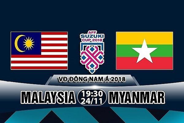 Malaysia 3-0 Myanmar: Tấm vé thứ 2 của bảng A