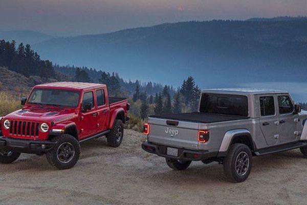 Bán tải địa hình Jeep Gladiator 2020 chính thức lộ diện