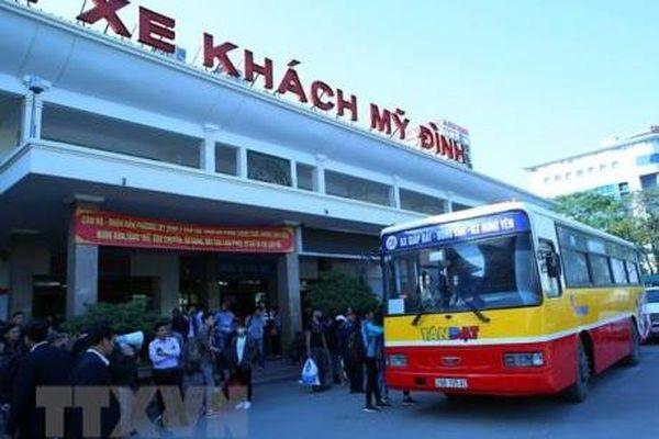 Hà Nội thông qua quy hoạch mới 7 bến xe khách