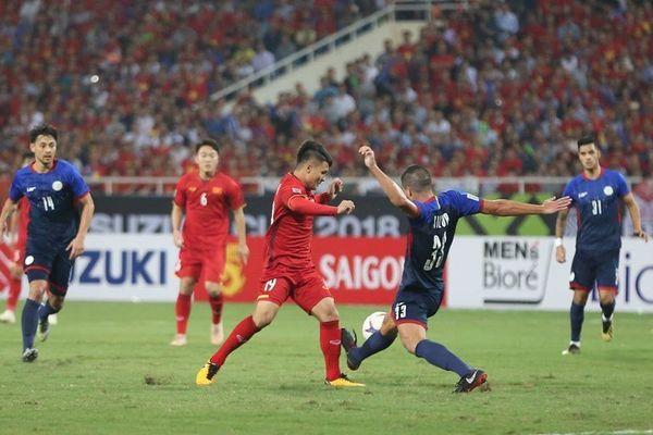 Bán kết lượt về AFF Cup 2018: Việt Nam thắng Philippines 2 - 1, giành vé vào chung kết gặp Malaysia