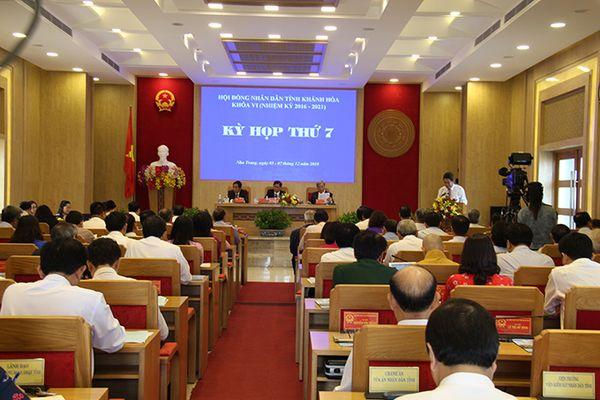 Kết quả lấy phiếu tín nhiệm những người giữ chức vụ do HĐND tỉnh Khánh Hòa bầu