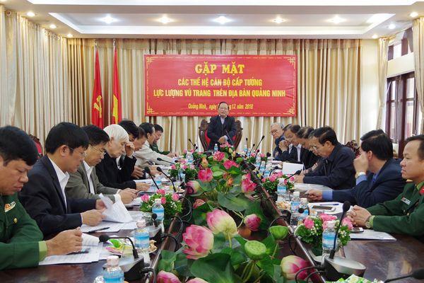 Gặp mặt các thế hệ cán bộ cấp tướng LLVT trên địa bàn Quảng Ninh