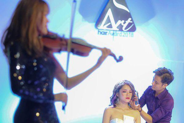 Gala Art Hair Award 2018: Giai điệu âm nhạc hòa quyện ngôn ngữ sắc mầu