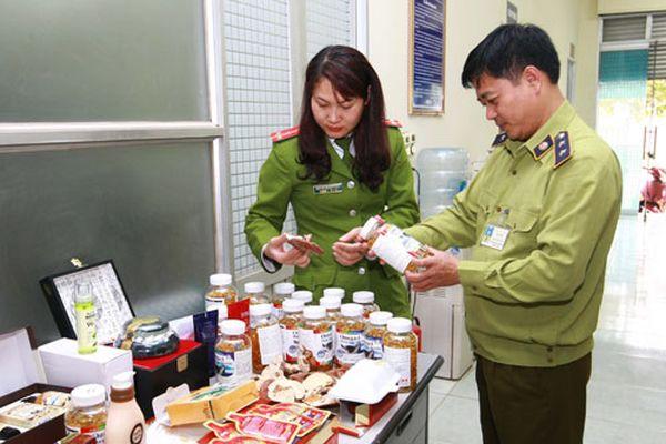 Quản lý chặt thực phẩm chức năng