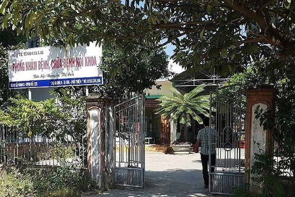 Gia Lai: Bé trai tử vong bất thường sau khi uống thuốc tại cơ sở y tế tư nhân