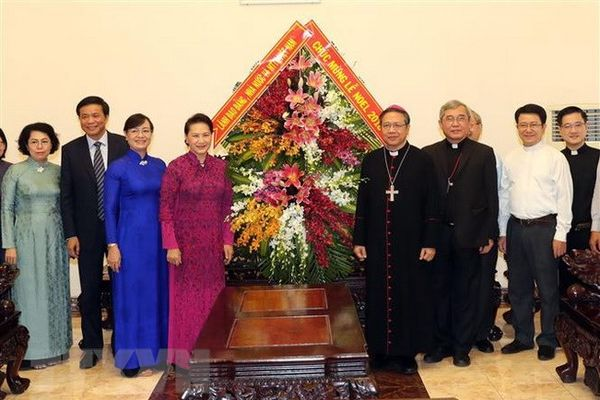 Đồng bào Công giáo gắn bó, đồng hành cùng dân tộc