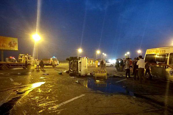 Hà Tĩnh: Va chạm giữa 2 xe ô tô, 1 tài xế tử vong
