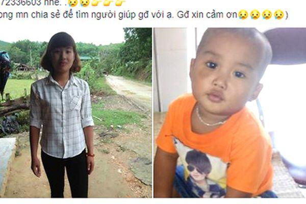 Sau cuộc cãi vã với chồng, người phụ nữ cùng con trai 2 tuổi mất tích