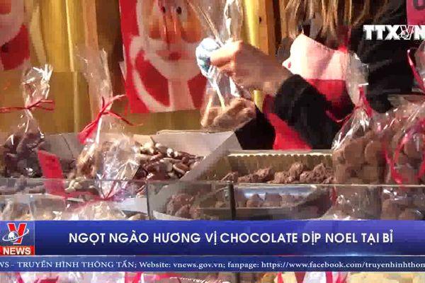 Ngọt ngào hương vị Chocolate dịp Noel tại Bỉ