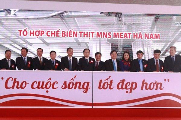 Khánh thành tổ hợp chế biến thịt mát đầu tiên tại Việt Nam