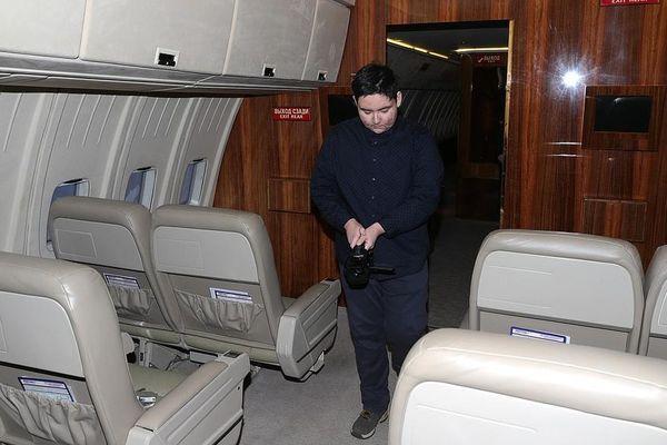 Cậu bé mắc bệnh hiểm nghèo được thăm chuyên cơ Tổng thống Nga