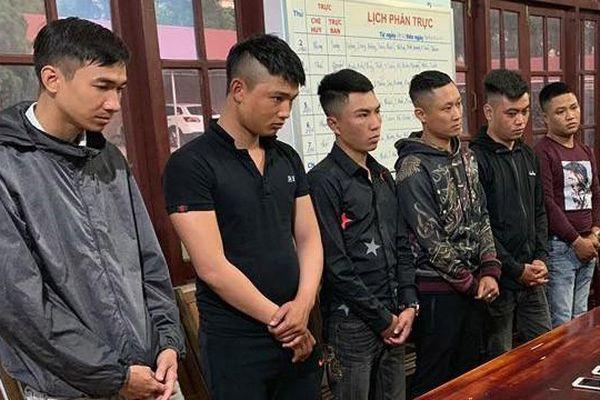 Bắt 6 thanh niên cho vay nặng lãi ở Đắk Lắk