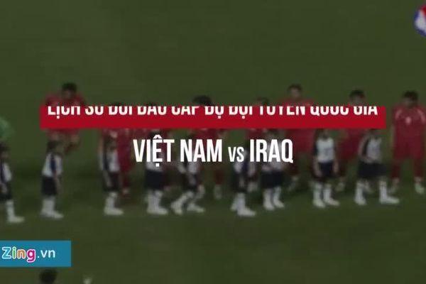 'Sự lớn mạnh của tuyển Việt Nam không thể cản Iraq giành chiến thắng'
