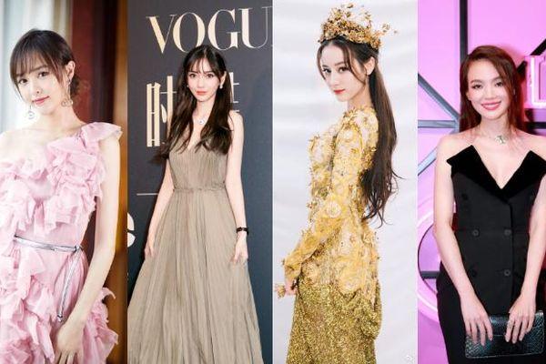 Angelababy, Đường Yên, Địch Lệ Nhiệt Ba và cuộc chiến 'nảy lửa' đến danh hiệu nữ hoàng thảm đỏ 2018