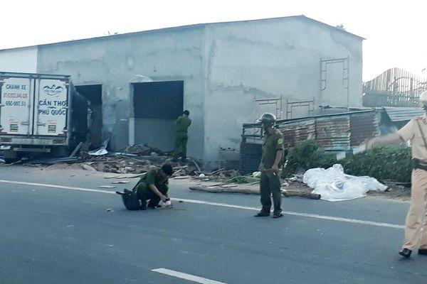 Tài xế xe tải tông chết 2 người ở Phú Quốc bị bắt