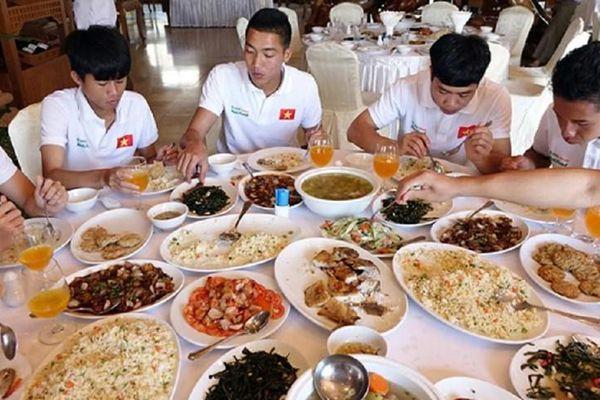 Hé lộ món ăn đặc biệt giúp các tuyển thủ Việt Nam tăng thể lực