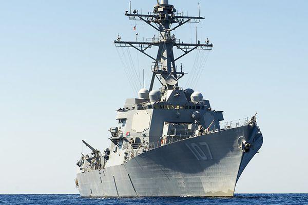 Tàu khu trục tên lửa của Mỹ tiến vào biển Baltic 'phô trương sức mạnh'