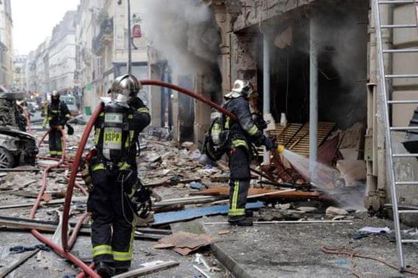 Nổ lớn ở thủ đô Paris (Pháp), nhiều người bị thương