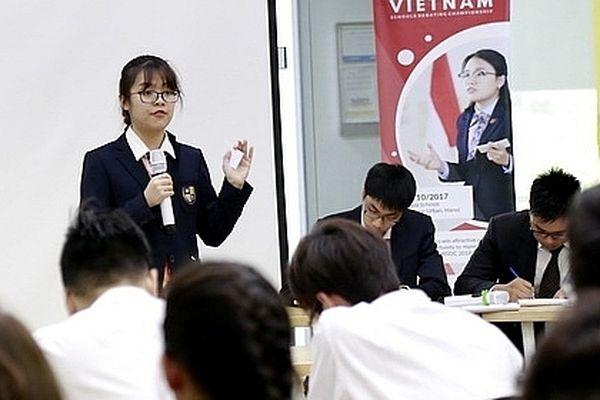Hơn 170 học sinh tham gia giải tranh biện Hà Nội mở rộng lần 2