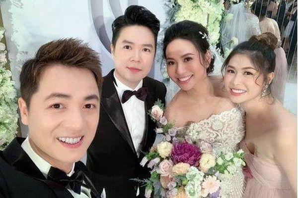 Bạn bè, đồng nghiệp trong giới giải trí dự đám cưới Lê Hiếu và vợ 9X