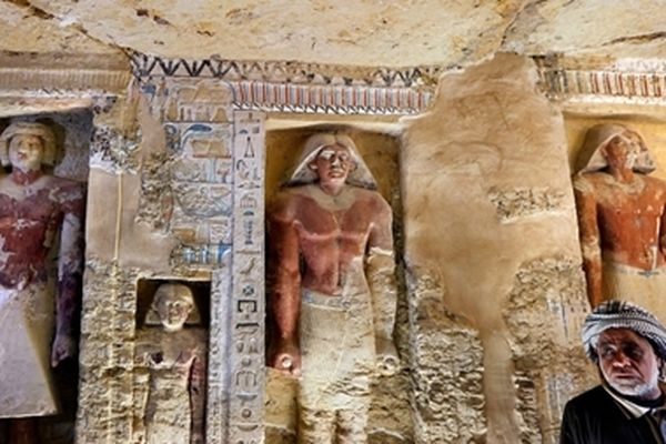 Phát hiện lăng mộ 4.400 năm tuổi của một thầy tu