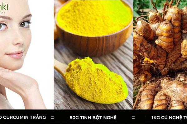 Chăm sóc da mang lại hiệu quả tốt nhất nhờ dưỡng chất Nano curcumin trắng