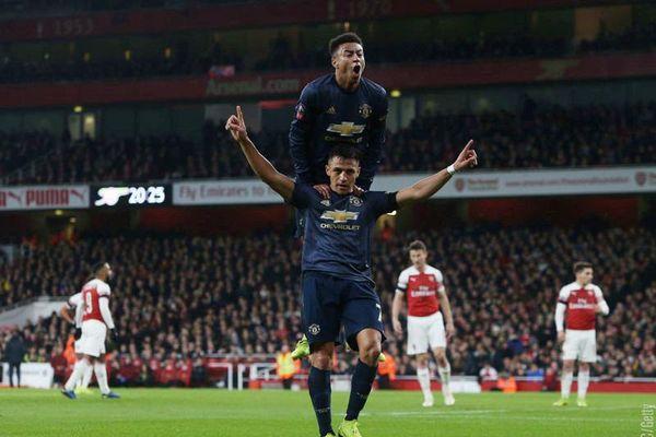 MU chơi 'lên đồng', hất cẳng Arsenal ra khỏi FA Cup