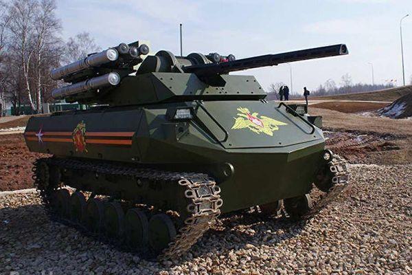 Kalasnhikov: Quân đội Nga đưa vào biên chế tổ hợp robot Uran-9, từng tham chiến ở Syria