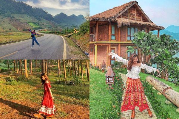 Theo chân cô gái Sài Gòn lang thang Tây Bắc trong hành trình đẹp như mơ
