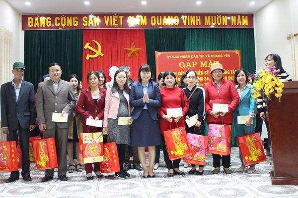 Quảng Yên gặp mặt gia đình quân nhân đang công tác ở Trường Sa, Nhà giàn DK1