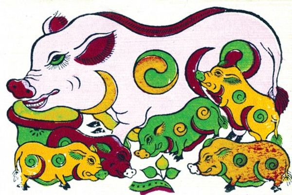 Hình ảnh con lợn trong văn hóa dân gian