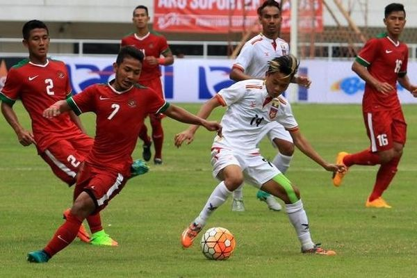 U22 Myanmar và U22 Indonesia cưa điểm trận ra quân