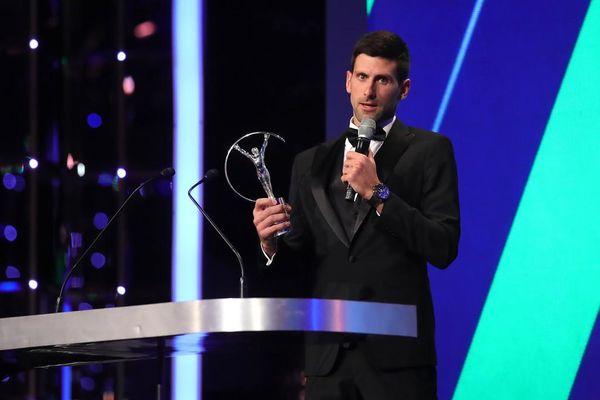 Nhận giải Laureus World Sports Awards, Djokovic kể về 'bài học của cuộc sống'