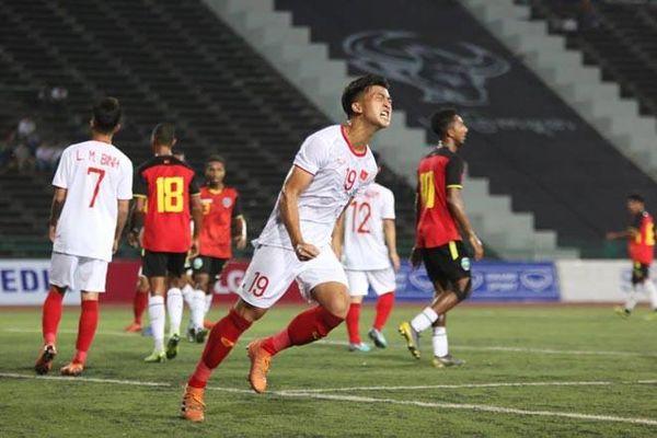 U22 Timor Leste 0 - 4 U22 Việt Nam: Đậm nhưng không đã