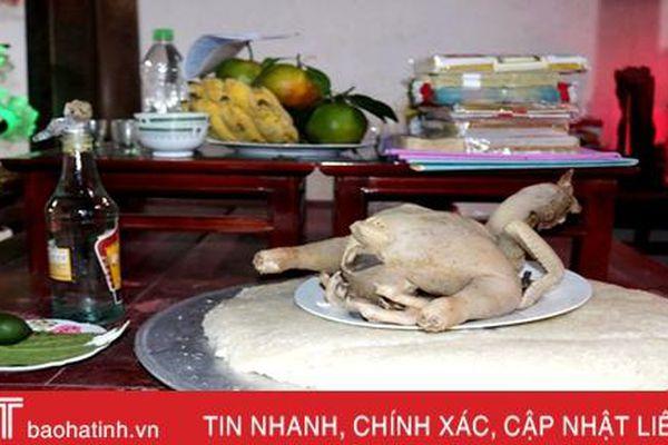 Nét văn hóa cúng họ rằm tháng Giêng ở Hà Tĩnh