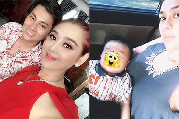 Ngắm con trai đáng yêu của mỹ nhân chuyển giới Lâm Khánh Chi