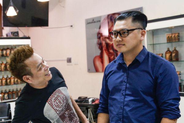 Đua nhau cắt tóc kiểu Kim Jong Un ở Hà Nội
