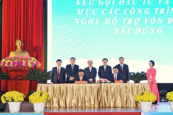 Nam Đàn thu hút 9 dự án quan trọng