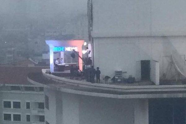 Trường quay dã chiến ngoài trời cực 'đỉnh' của nhiều hãng thông tấn quốc tế ở Việt Nam