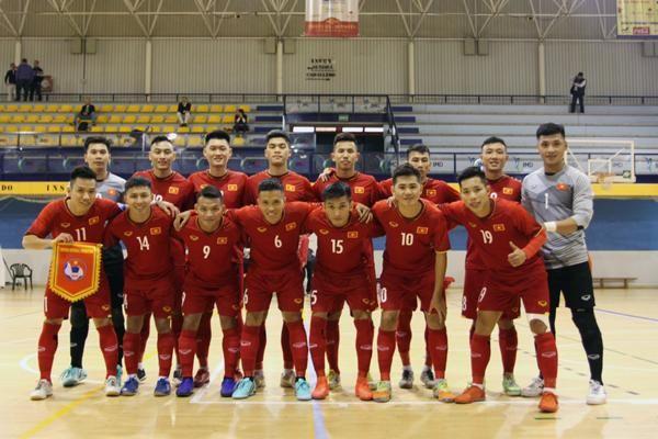 Đội tuyển futsal Việt Nam có trận hòa trước CLB Real Betis