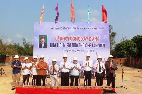 Xây nhà lưu niệm nhà thơ Chế Lan Viên tại Quảng Trị