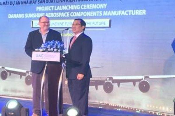CEO Tập đoàn UAC chia sẻ lý do chọn Đà Nẵng để đầu tư nhà máy sản xuất linh kiện hàng không vũ trụ