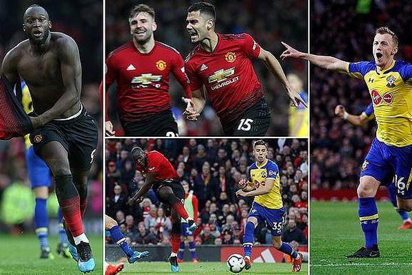 Man United - Southampton 3-2: Pereira ghi siêu phẩm, Lukaku lập cú đúp, HLV Solskjaer về lại tốp 4