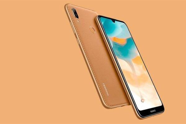Huawei Y6 (2019) ra mắt: màn hình giọt nước, mặt lưng giả da