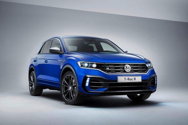 SUV thể thao hiệu suất cao Volkswagen T-Roc R trình làng