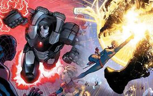 Marvel Buster - Bộ giáp Iron Man dùng để khắc chế Captain Marvel