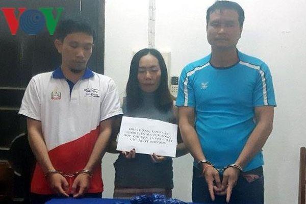 3 đối tượng người Lào vận chuyển hơn 15.000 viên ma túy sang Việt Nam