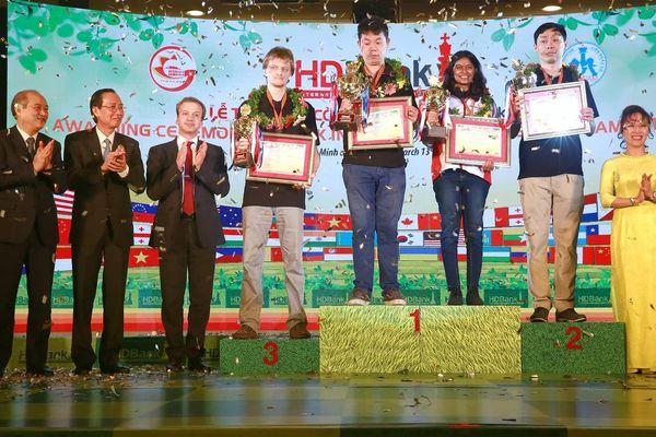Wang Hao lần hai đăng quang giải cờ vua HDBank 2019