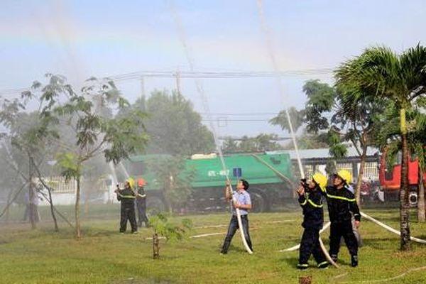 Quyết tâm đạt kết quả cao nhất trong công tác phòng cháy, chữa cháy và cứu nạn cứu hộ